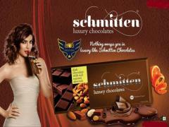 Priya Golani Promoted this brand of Luxury Chocolate Schmitten