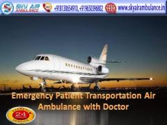Best and Low-Cost Sky Air Ambulance in Patna with Medical Team