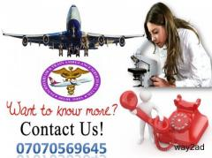 An Emergency Patient Relocate by Panchmukhi Air and Train Ambulance Service in Bhubaneswar