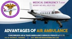 Pancreatitis Patient Shifting by Panchmukhi Air and Train Ambulance Service in Raipur