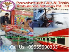 Hire Super Special Panchmukhi Air Ambulance in Bhopal at Minimum Cost