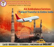 Renewed and Super Special Air Ambulance Service in Lucknow with MBBS Doctors