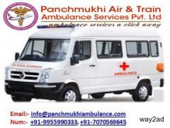 Panchmukhi Ambulance Services in Delhi With ICU Service at a Low-Cost
