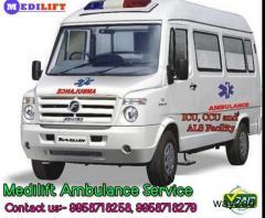 Get Best Road Ambulance Service in Tata Nagar By Medilift Ambulance