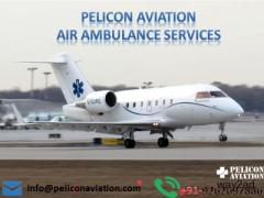 Book Complete Bed to Bed Air Ambulance Service in Delhi by Pelicon