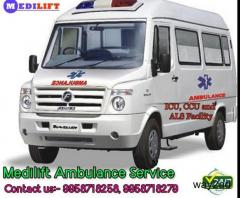 Low-Cost Ambulance Service in Ranchi By Medilify Ambulance