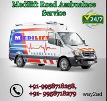 Best ICU and CCU Facility Ambulance Service in Gaya By Medilift Ambualnce