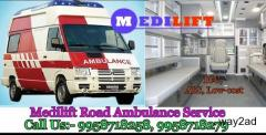 Get Medical Support Ambulance Service in Saket, Delhi By Medilift Ambulance