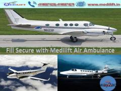 Pick Reliable Commercial Air Ambulance Service in Patna