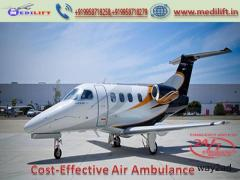 Book Medilift Reliable Charter Air Ambulance Services in Patna