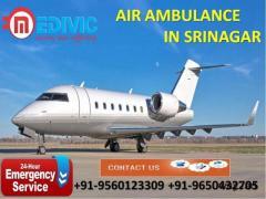 Get Latest Emergency Support Air Ambulance Service in Srinagar by Medivic
