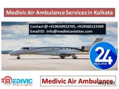 Medivic air ambulance services in Kolkata and Ranchi-Get the Best