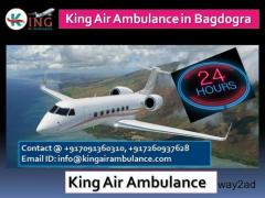 King Air Ambulance in Bagdogra- Magnificent Quality