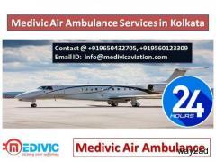 Medivic Air Ambulance in Kolkata-Get Rid of Trouble