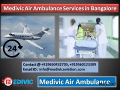 Medivic Air Ambulance in Bangalore-Expert Medical Team Presents