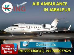 Pick Immediate ICU Doctor Facilities Air Ambulance Service in Jabalpur by King