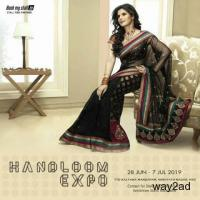 Handloom Expo cum Sale at TTD, Hyderabad - BookMyStall