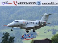 Take Advanced Medical Facility Air Ambulance Service in Varanasi