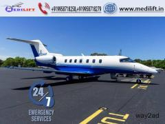 Get Country Best Aircraft Air Ambulance Service in Siliguri