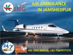 Pick ICU Patient Transportation Air Ambulance in Jamshedpur by King