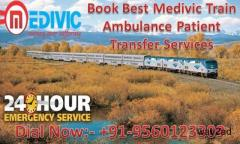 Best and Low-Cost Medivic Aviation Train Ambulance Service in Patna
