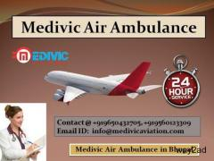 Medivic Air Ambulance in Bhopal- Very Convenient For Patient