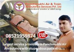 Risk Free Full Bed-to-Bed Service Provider Panchmukhi Air Ambulance Service in Mumbai
