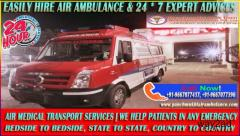 For Affordable and Dependable Air Ambulance Service in Ranchi Call Panchmukhi