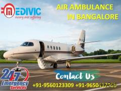 Use the Nonpareil Emergency Support Air Ambulance in Bangalore by Medivic