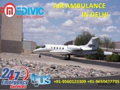 Take the Benefit of Ultra Latest ICU Care Air Ambulance in Delhi by Medivic