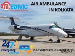 Utilize Extraordinary ICU and CCU Facilities Air Ambulance in Kolkata by Medivic