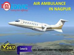 Get Exceptional ICU Emergency Charter Air Ambulance in Nagpur by Medivic