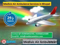 Medivic Air Ambulance Services in Bhopal-Quick Patient Transportation