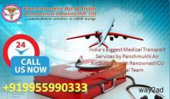 Additionally give you the advanced equipment- Panchmukhi Air Ambulance in Mumbai