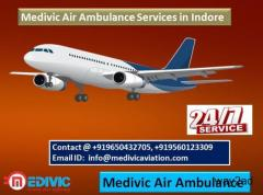 Medivic Air Ambulance Services in Indore-Best