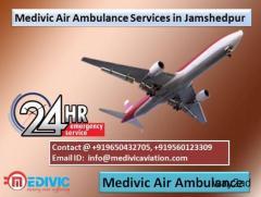 Medivic Air Ambulance Services in Jamshedpur-Excellent