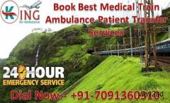 King Train Ambulance Services in Patna with Best Medical Team for Patient Transfer
