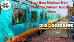 Get King Train Ambulance Services in Allahabad, UP for Critical Patient Transfer