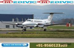 Now Book Matchless Relocate Air Ambulance from Kolkata to Delhi by Medivic