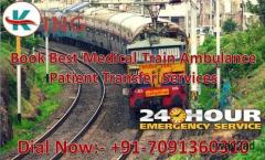 Get King Train Ambulance Services in Ranchi for ICU Patient Shifting