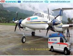 Take the Most Valuable and Safest Air Ambulance from Ranchi to Delhi by Medivic