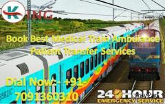 Get King Train Ambulance Services in Dibrugarh, Assam at the Reasonable Price