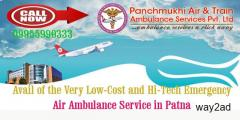 Trustworthy, Most-rising and Modern-guide Service by Panchmukhi Air Ambulance from Patna