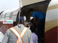 Low fare Air and train ambulance Ranchi to Delhi-Medivic