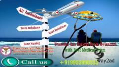 In recent times moved final stage of disease patient from Guwahati by Panchmukhi Air Ambulance
