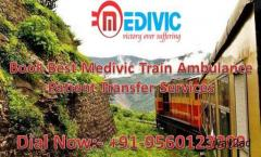 Get Medivic Aviation Train Ambulance Services in Lucknow with Unique ICU Facility