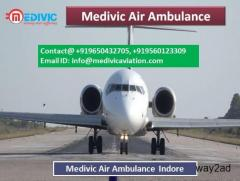 Medivic Air Ambulance Indore-Solution