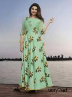 Shop Elegant Designs in Long Kurtis Online At Mirraw