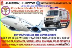 Safe Medical Shifting by Panchmukhi Air Ambulance Service in Ranchi at lowest Cost