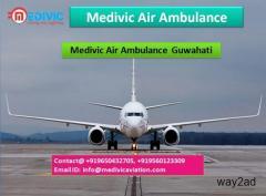 Medivic Air Ambulance Guwahati-Best solutions